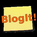 BlogIt! (Blogger) icon