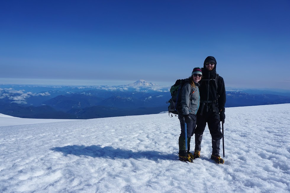 lea and I at the summit