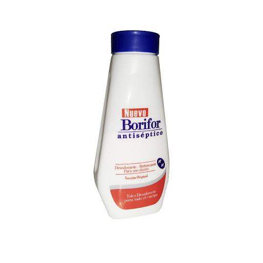talco corporal borifor antiseptico original 180gr