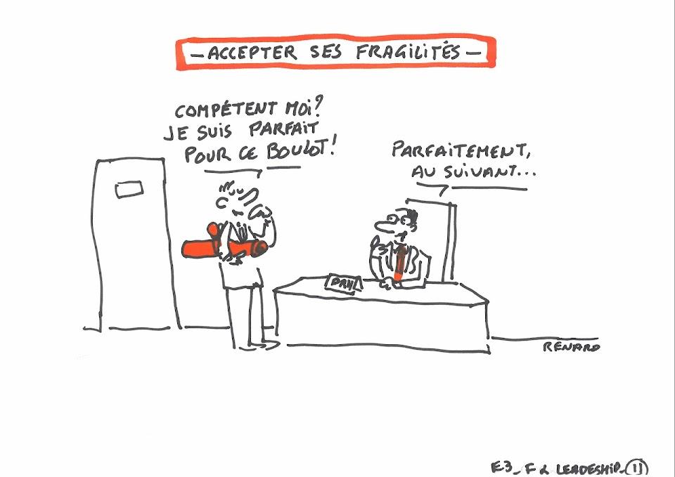 Atelier Fragilités et leadership, par Renard