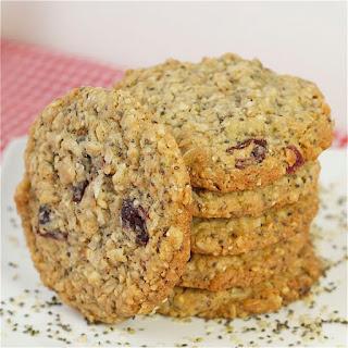Hemp & Chia Seed Oatmeal Cookies