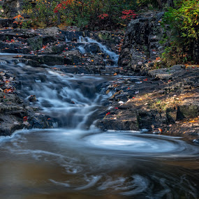 Acadia Duck Brook by Mike Moss - Landscapes Waterscapes ( national park, autumn, rossbach, budliger, acadia )