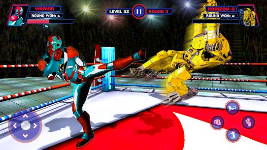 Robot Ring Fighting-Superhero Robot VS Real Robot 2