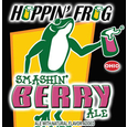 Logo of Hoppin' Frog Smashin' Berry Ale