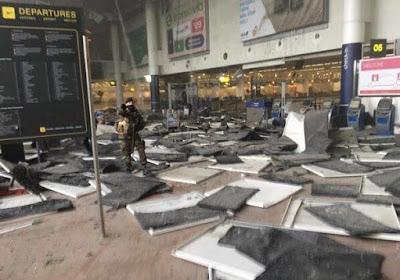 Le football passe au second plan... Toutes nos pensées vont aux victimes des attentats de Bruxelles