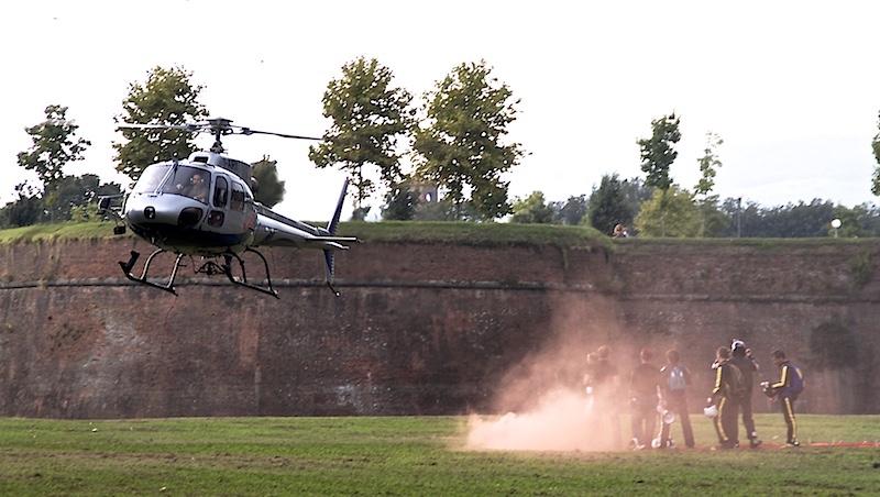 viaggiare in elicottero di Annalis©Photo