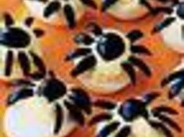 'spider' Deviled Eggs Recipe