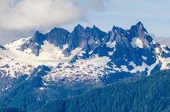 Photo: Stunning mountains along Frederick Sound