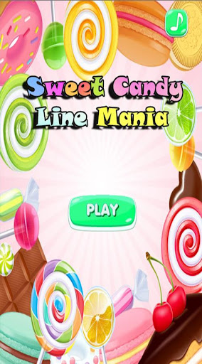 Sweet Candy Line Mania