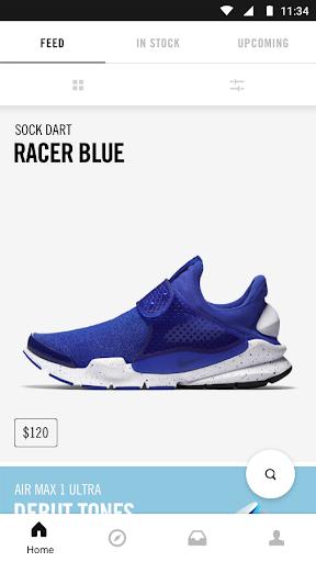 Nike SNKRS Screenshot