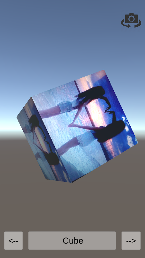 Surface Projection- screenshot