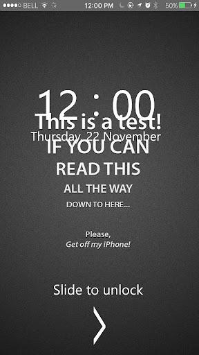 Dont Touch My Phone Lock Screen HD Wallpaper Screenshot 10