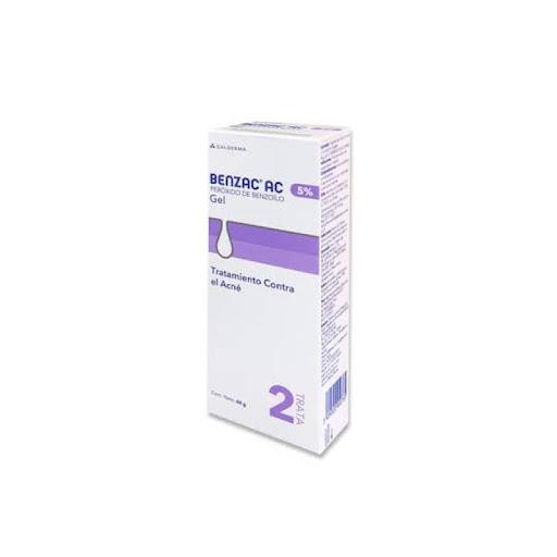 Gel Benzac Ac 5% 60G Tratamiento Contra Acne Galderma