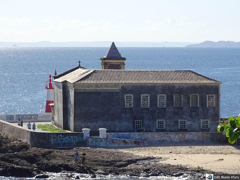 O que fazer em Salvador (Bahia) - Farol e Forte de Monte Serrat