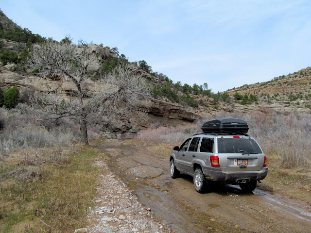 Driving up Westwater Creek