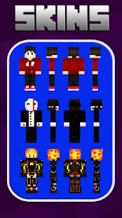 Skins Boys for Minecraft PE - náhled