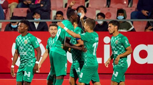 (1-2) Sadiq y Robertone ponen líder al Almería en Girona