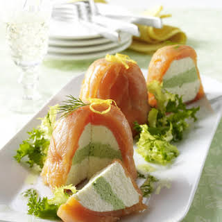 Salmon and Horseradish Mousse.