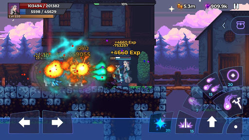 Moonrise Arena - Pixel Action RPG apkmr screenshots 4