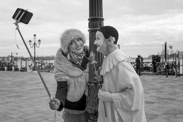 Selfie a Venezia di Giancarlo Lava