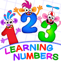 Learning numbers for kids! Writing Counting Games! APK