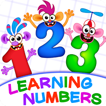Learning numbers for kids! Writing Counting Games!