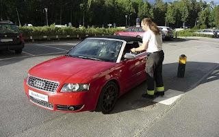 Audi S4 Cabriolet Rent Stockholm