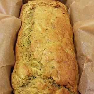 Courgette Lemon Gluten-free Cake.