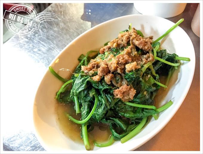 金軒鴨肉專賣店菜單燙青菜