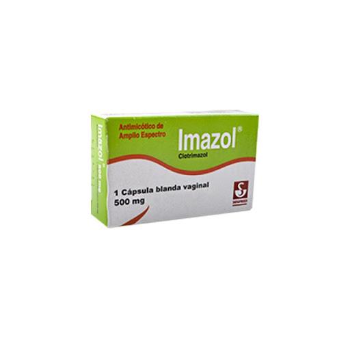 Clotrimazol Imazol 500mg 1 Capsula Vaginal Meyer Capsulas Vaginales
