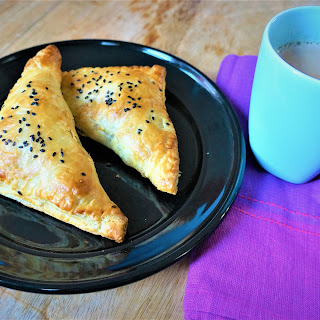 Savory Paneer Puff Pastry Turnovers - Air Fryer Recipe