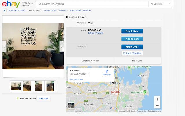 Mappy for Ebay
