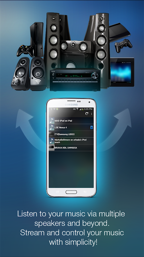 MyAudioStream Lite- screenshot