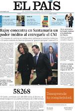 """Photo: En nuestra portada del viernes 23 de diciembre: """"Rajoy concentra en Santamaría un poder inédito al entregarle el CNI"""", """"20 exsecretarios de Estado replican a la plataforma de Chacón"""" y más http://www.elpais.com/static/misc/portada20111223.pdf"""