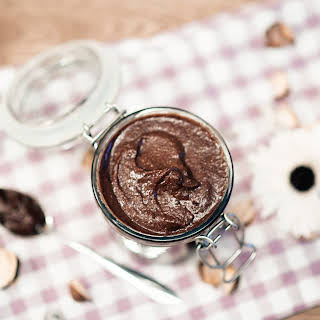 Homemade healthy Nutella.