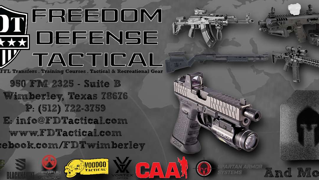Freedom Defense Tactical - Firearms, Accessories, Training