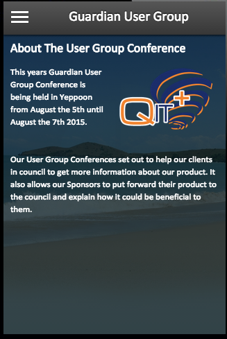 Guardian User Group- screenshot