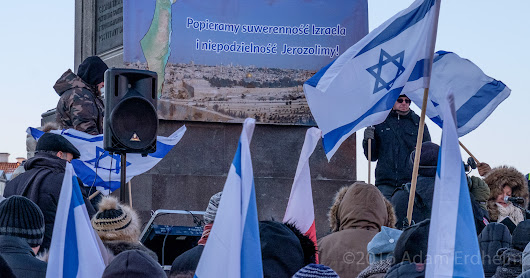 Marsz poparcia dla Izraela / Rally for sovereignity of Israel and indivisibility of Jerusalem