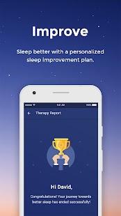 SleepRate: Sleep Therapy, Tracking & Analysis - náhled