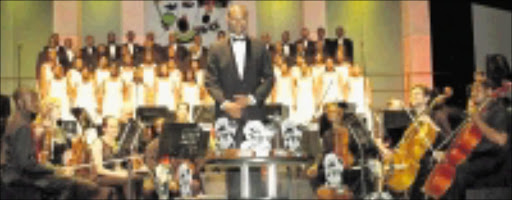 ENCOURAGING EXCELLENCE: Gauteng Choristers perform to great acclaim at prestigious events here and abroad. 15/11/2009. © Unknown.