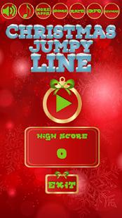 Christmas jumpy line - náhled