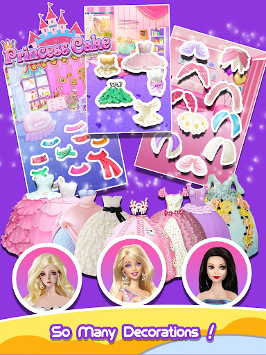 Princess Cake - Sweet Trendy Desserts Maker apkpoly screenshots 8