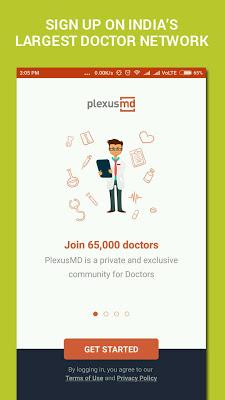 PlexusMD - News, Cases and Jobs for Doctors - screenshot
