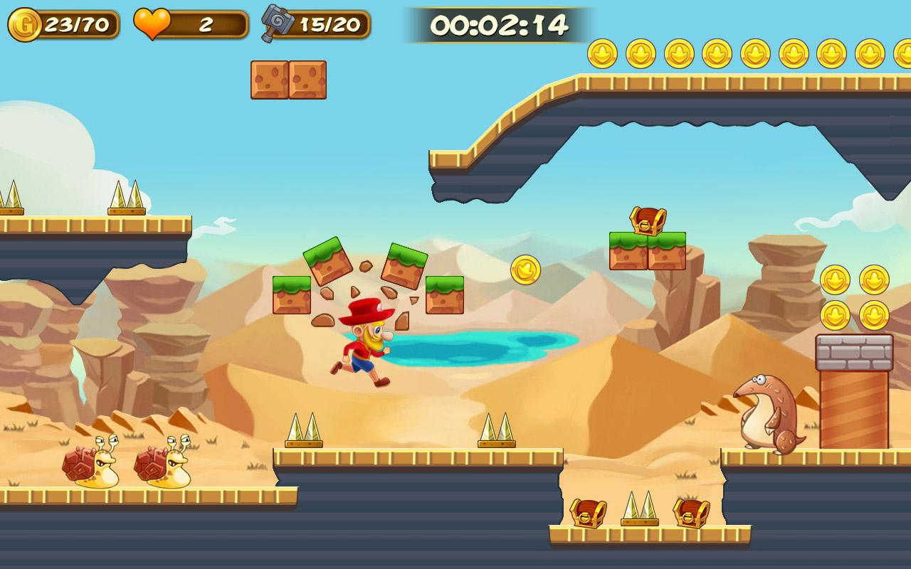 Super  Adventure of Jabber- screenshot