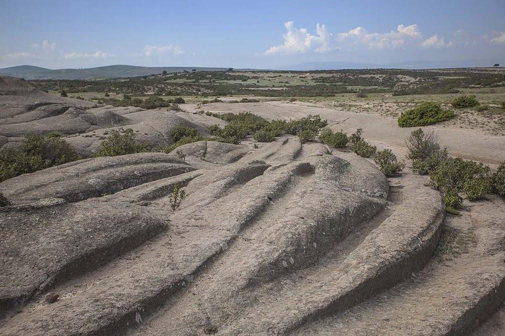 Os rastros misteriosos no Vale do Frígio, na Turquia