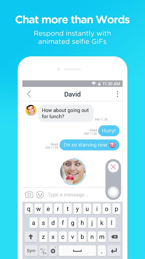Screenshots of SNOW - Selfie, Motion sticker for iPhone