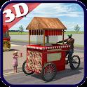 Popcorn Hawker 3d Simulation icon