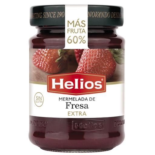 mermelada helios de fresa extra 340gr