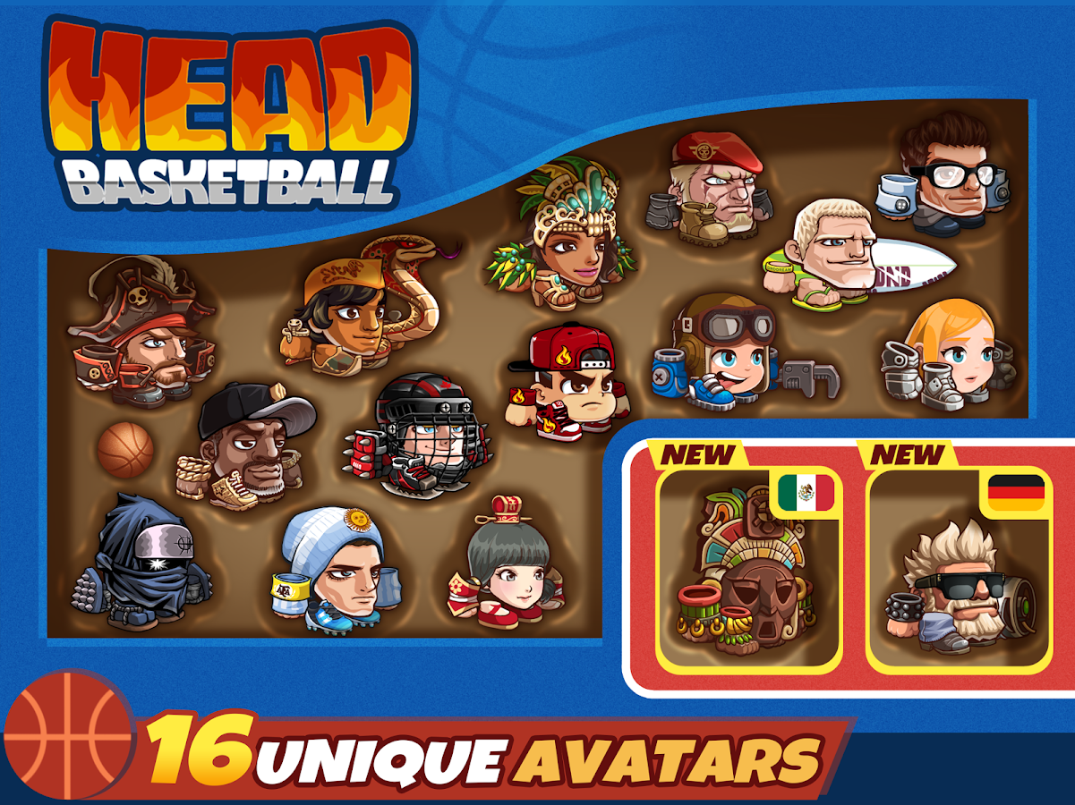 Head Basketball- screenshot