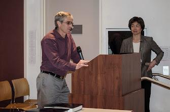 Photo: EECS Chair David Culler and Associate Chair Tsu-Jae King Liu.